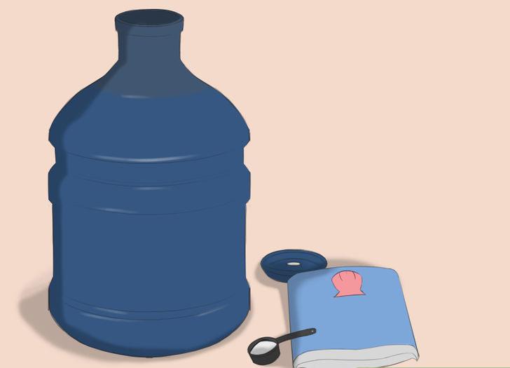 Подготовить запас солёной воды