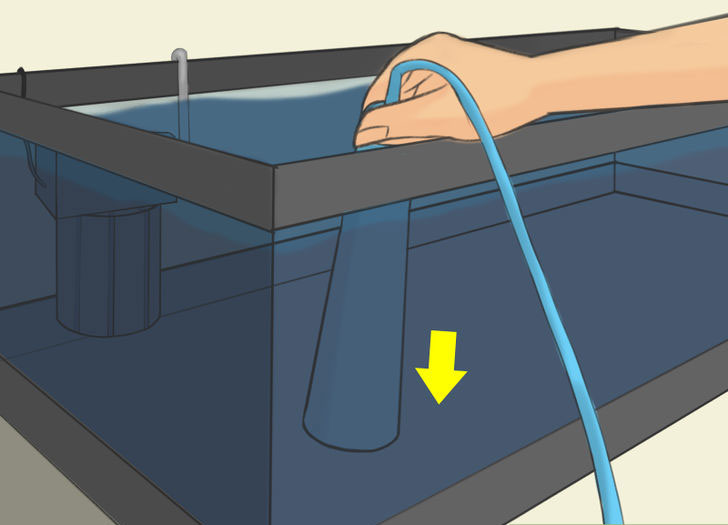 Подмена части воды на свежую