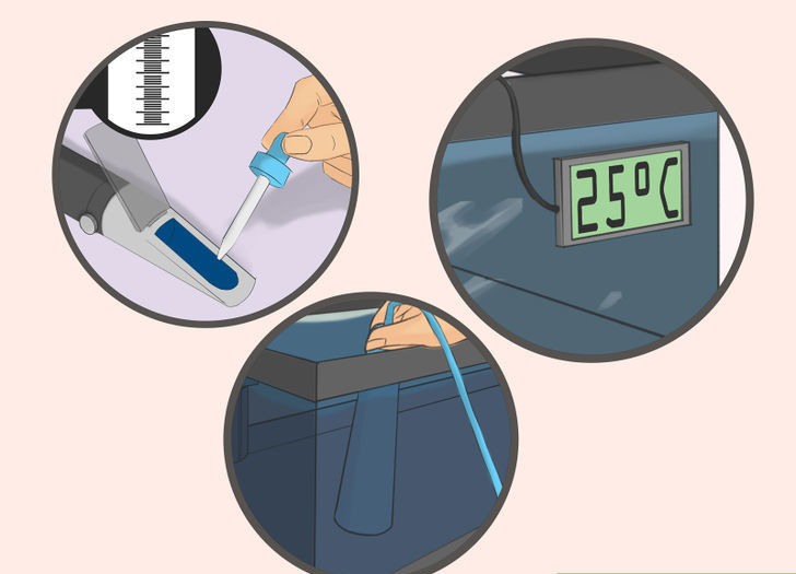 Осуществление контроля параметров воды